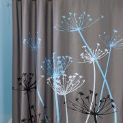 Rem phong tam polyester khong tham nuoc – hoa tiet hoa bo cong anh-1