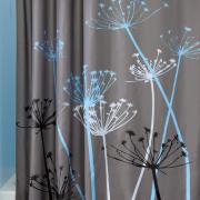 Rem phong tam polyester khong tham nuoc – hoa tiet hoa bo cong anh-2