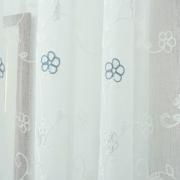 Rem vai polyester trang tri cua so theu hoa dep-3