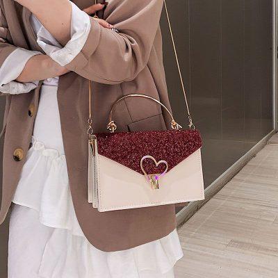 Túi xách nữ Đẹp khóa trái tim Dễ Thương – Chuyên các sp Thông minh Tiện ích, Gia dụng Đa năng